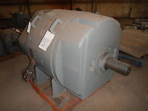 300 Hp Dc General Electric Motor 850 Rpm 5453 Frame Dpfv 500 V Arm