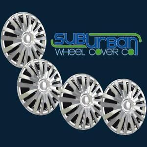 10 14 Volkswagen Golf Style 15 Replacement Chrome Hubcaps 507 15c New Set 4