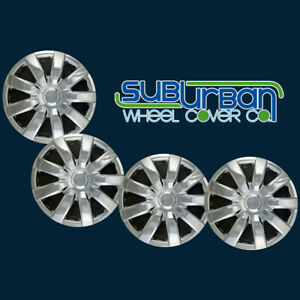 04 05 06 Toyota Camry Style 423 15c 15 9 Spoke Chrome Hubcaps New Set 4