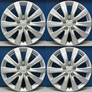 11 12 13 Toyota Corolla Style 1038 16s 16 Hubcaps Wheel Covers New Set 4