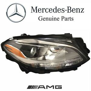 Mercedes Ml350 Gle350 Ml550 12 16 Headlight Assy Halogen Passenger Right Genuine