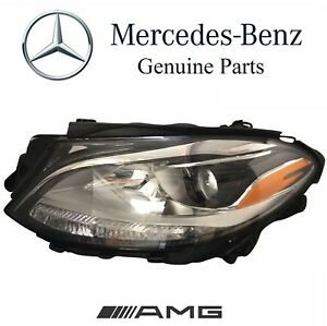 Mercedes Ml550 Gle350 Ml350 12 16 Halogen Headlight Assy Driver Left Genuine