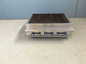 Imperial Irb 36 Natural Gas 36 Counter Top Charbroiler Grill