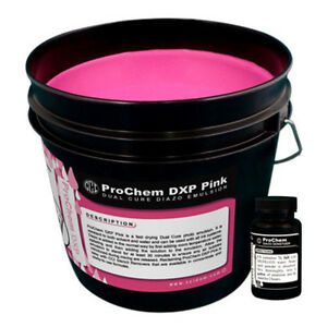 Cci Prochem Dxp Pink Screen Printing Emulsion Quart
