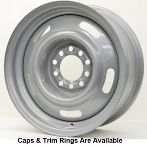 Vision 55 Rally Rim 15x7 5x5 Offset 6 Silver qty Of 4