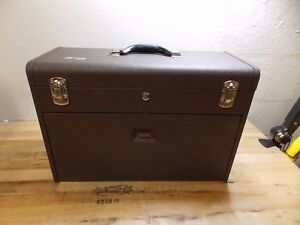Kennedy 3 drawer Steel Tool Chest 20 1 8 X 8 1 2 X 13 5 8 Brown Model 620b