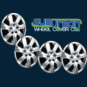 2010 2011 Toyota Camry Style 445 16c 16 Chrome Hubcaps Wheel Covers New Set 4