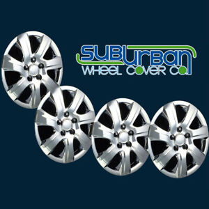 10 11 Toyota Camry Style 445 16c 16 Chrome Hubcaps Wheel Covers New Set 4