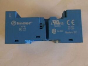 Finder 90 02 10a 250v V22 Relay Socket
