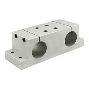 80 20 Inc 15 Series Double Shaft Stanchion Block 2 005 Thru Hole 5950 N