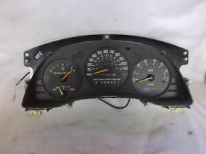 Speedometer Canada Without Floor Console Cluster Fits 98 99 Lumina Car 23131