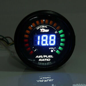New Air Fuel Gauge 2 52mm Electrical Car Meter Digital Wideband Smok Auto Meter