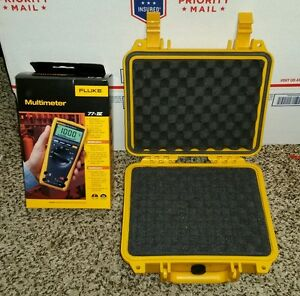 Brand New Fluke 77iv Multimeter And Brand New Hard Case 77 4