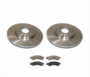 94 To 04 Ford Mustang Cobra Brake Rotors Ceramic Pads