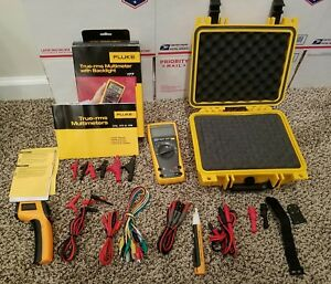Fluke 177 Multimeter Everything Is Brand New Includes New Hard Case