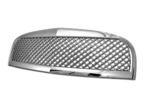 Gsp Chrome Bentley Mesh Front Hood Bumper Grill Grille Abs Kit Replacement 06 10
