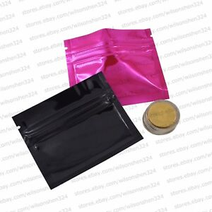 3x2 5 Inch Small Colors Zip Lock Bag Gift Coin Purse Pouches For Trial Package
