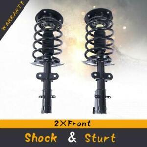 Quick Complete Struts Coil Springs Assembly Front For 02 09 Chevy Trailblazer