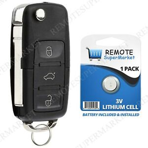 Replacement For Volkswagen Vw 2006 2011 Golf 2007 2011 Eos Remote Car Key Fob