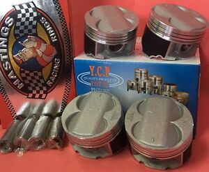 Ycp B20 84mm High Compression Pistons Rings Kit For Honda Acura