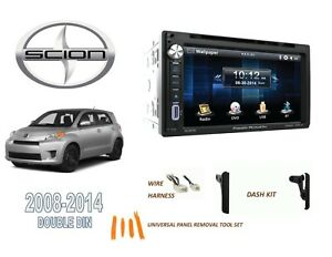2008 2014 Scion Xd Car Stereo Kit Bluetooth Touchscreen Dvd Usb