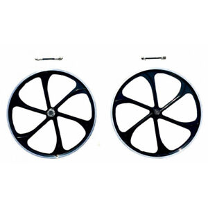 26 Aluminum Wheels black 80cc Gas Motorized Bicycle