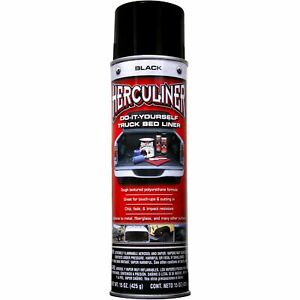 Herculiner Truck Bed Liner Black 15 Oz