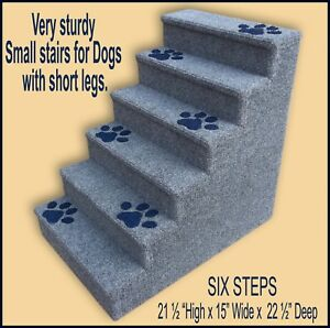 Dogs With Short Legs 21 1 2 High X 15 Wide X 22 1 2 Deep Steps For Small Dogs