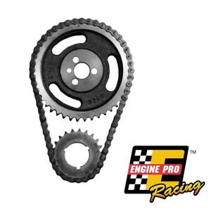 Adjustable Double Roller Timing Chain Set For Chevrolet Sbc 283 327 350 5 7l
