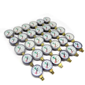 lot Of 30 4000 Psi Pressure Gauges For Bu 2581 ah Oxygen Tank Systems