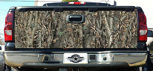 Tailgate Camo Decal Made From 3m Wrap Vinyl 66 x27 Truck Camo Tree Camouflage