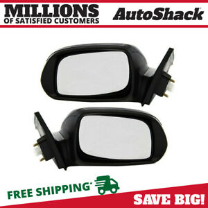 Side View Mirror Power Signal Paint To Match Pair 2 For 2005 2010 Scion Tc 2 4l