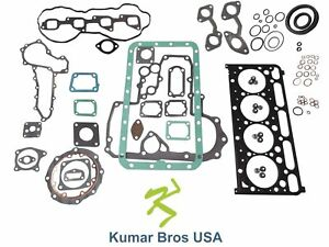 New Kumar Bros Usa Full Gasket Set For Bobcat 435 kubota V2403 m di