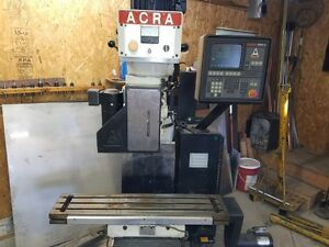 Acra 3 Axis Cnc Mill