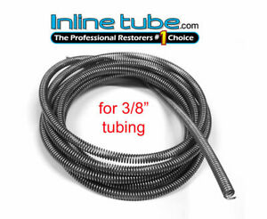 3 8 Fuel Line Tube Spring Wrap Armor Guard Cover Tubing Protector Stainless 8