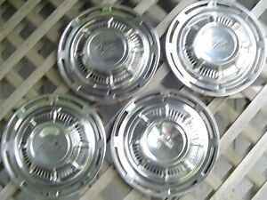 1959 Chevrolet Impala Hubcaps Wheel Covers Center Caps Antique Vintage Classic