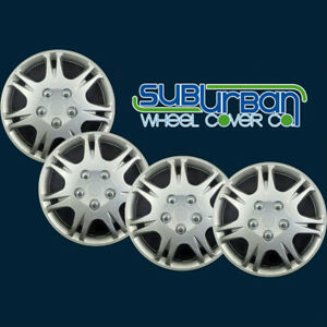 99 09 Mitsubishi Galant 639sm 16 Replacement Hubcaps Wheel Covers New Set 4
