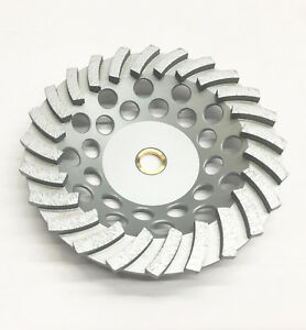 New 7 24 Turbo Segments Diamond Grinding Cup Wheel Premium Quality