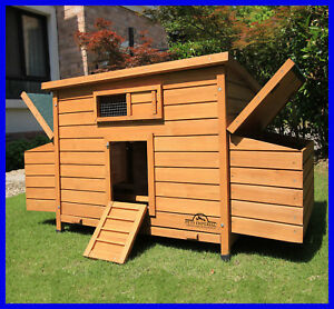 Pets Imperial Balmoral Large Deluxe Chicken Coop Hen Poultry House Rabbit Hutch