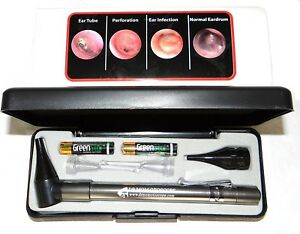Lighted Ear Curettes Plus Hard Case third Generation Dr Mom Slimline Stainless