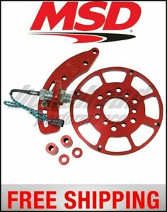 Msd Ignition Crank Trigger Kit Small Block Chevy 8 Ct Wheel
