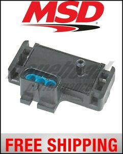 Msd Ignition Sensor map Boost 2psi 44psi Three bar