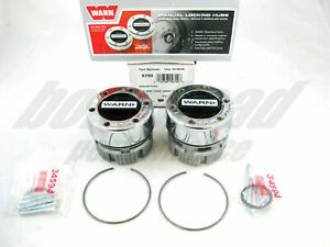 Warn 9790 4wd Manual Locking Hubs 1959 1996 Ford 1 2 Ton Pickup Truck