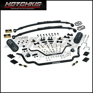 Hotchkis Suspension 80017 Tvs Kit 1970 1973 Camaro Firebird Small Block Chevy