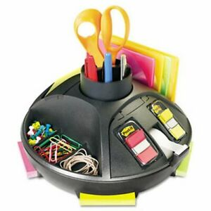 Post it Self stick Notes Dispenser Plastic Rotary 10 Diameter X 6 mmmc91