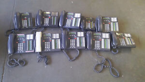 10 Office Business Table Land Line Phones Avaya Nortel Networks