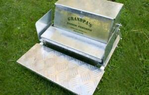 Grandpa s Feeders Automatic Chicken Feeder Standard 20 Lb Feed Poultry Treadle