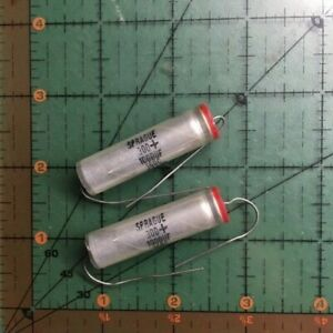 Sprague Axial Electrolytic Capacitor 1000uf 16v 30d108g016f 10 75 105 20pcs