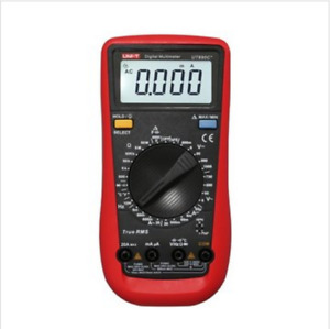 Uni t Ut890c Digital True Rms Multimeter Multimetro With Test Lead Cable