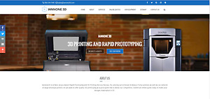 Turn key 3d Rapid Prototyping Website For Sale